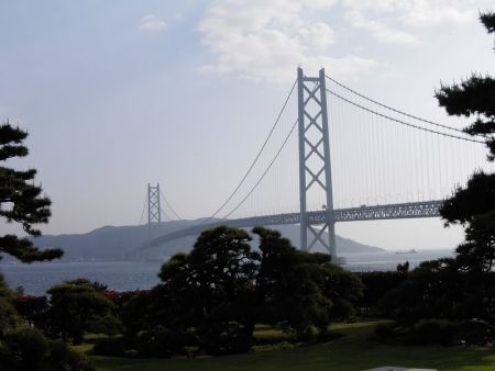 Мост Акаси-Кайке, Япония/Akashi Kaiky Bridge, Japan