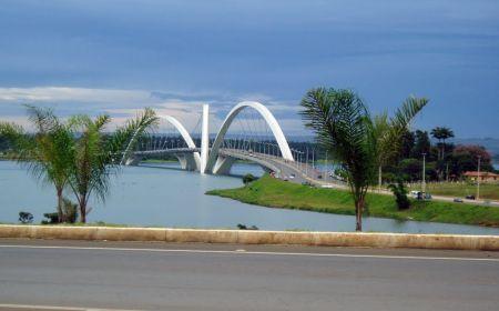Бразильский мост Жуселину Кубичека
