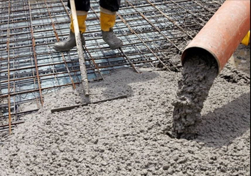 Технология бетонирования