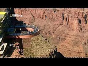 Суперсооружения. Подвесной мост над Гранд-Каньоном