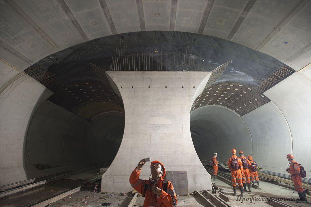 Дерзкие проекты. Туннель под Альпами